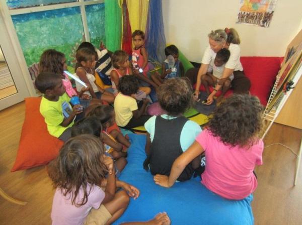 Children at HCCFC